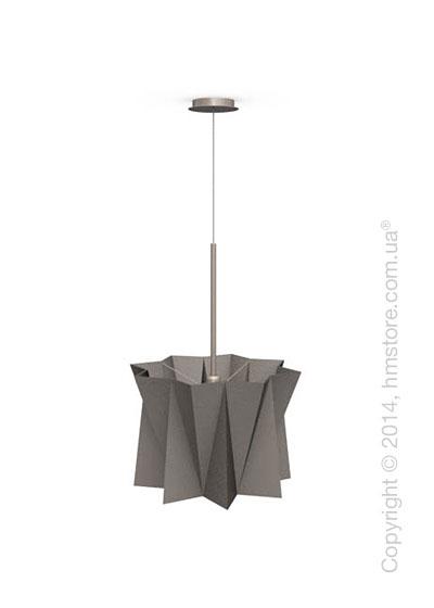 Подвесной светильник Calligaris Andromeda, Adjustable height suspension lamp, Fabric taupe