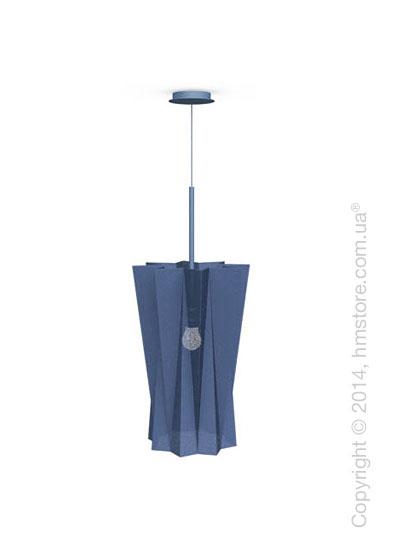 Подвесной светильник Calligaris Andromeda, Suspension lamp, Fabric blue