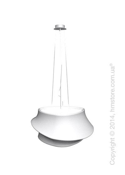 Подвесной светильник Calligaris Cugnus, Suspension lamp, Fabric white