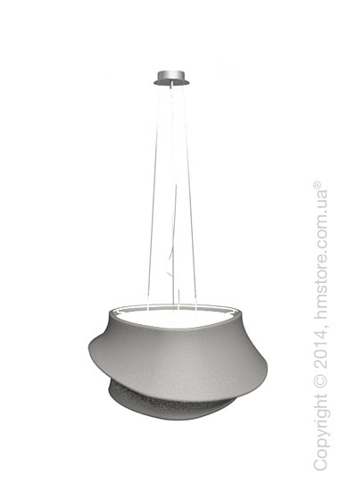 Подвесной светильник Calligaris Cugnus, Suspension lamp, Fabric grey