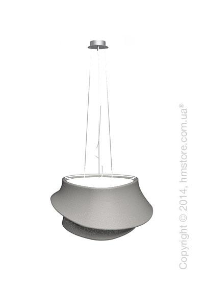Подвесной светильник Calligaris Cugnus, Suspension lamp, Fabric grey