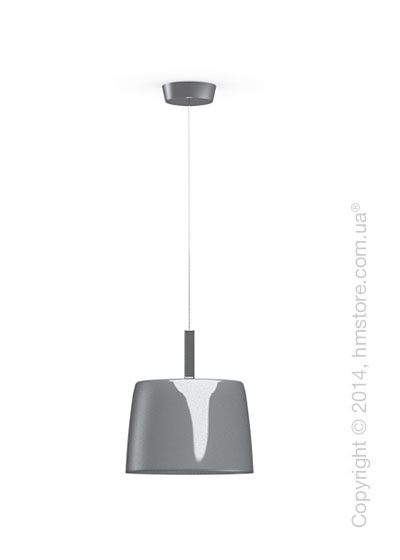Подвесной светильник Calligaris Phoenix, Suspension lamp, Glass grey and white
