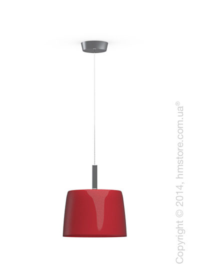 Подвесной светильник Calligaris Phoenix, Suspension lamp, Glass red and white