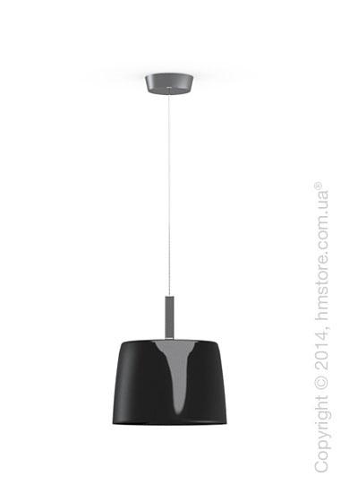 Подвесной светильник Calligaris Phoenix, Suspension lamp, Glass black and white