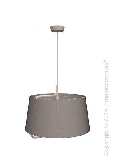 Подвесной светильник Calligaris Sextans, Suspension lamp, Fabric taupe