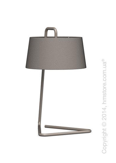 Настольный светильник Calligaris Sextans, Table lamp, Fabric taupe