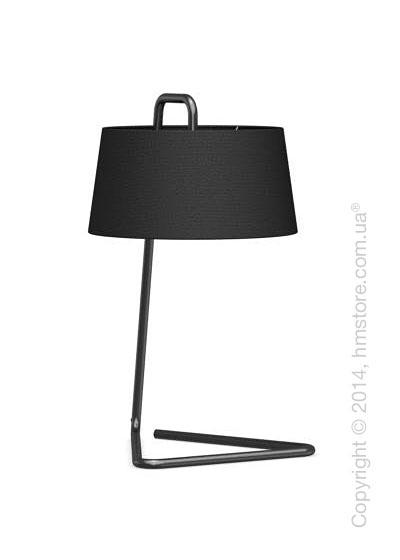 Настольный светильник Calligaris Sextans, Table lamp, Fabric black
