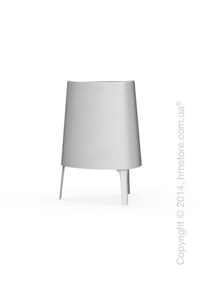 Настольный светильник Calligaris Allure, Table lamp, Fabric white