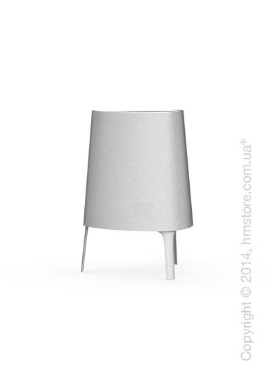 Настольный светильник Calligaris Allure, Table lamp, Fabric white