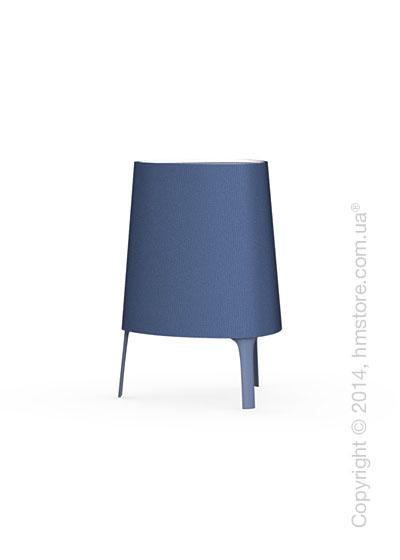 Настольный светильник Calligaris Allure, Table lamp, Fabric blue
