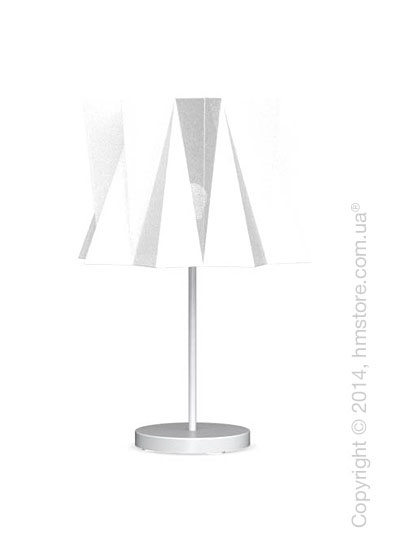 Настольный светильник Calligaris Andromeda, Table lamp, Fabric white