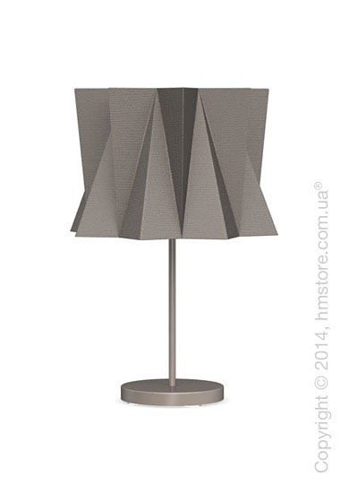 Настольный светильник Calligaris Andromeda, Table lamp, Fabric taupe