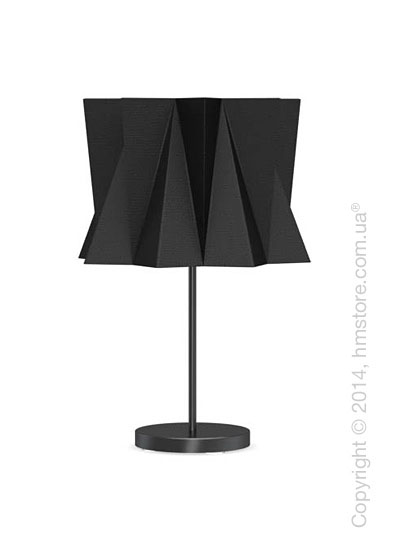 Настольный светильник Calligaris Andromeda, Table lamp, Fabric black