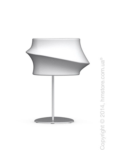 Настольный светильник Calligaris Cugnus, Table lamp, Fabric white