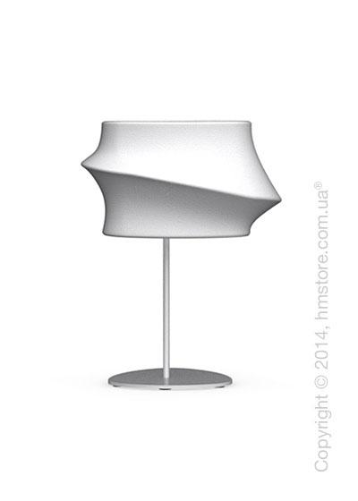 Настольный светильник Calligaris Cugnus, Table lamp, Fabric white