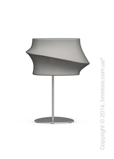 Настольный светильник Calligaris Cugnus, Table lamp, Fabric grey