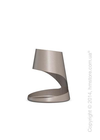 Настольный светильник Calligaris Evo, Table lamp, Metal matt taupe