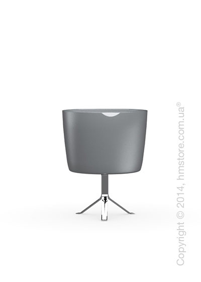 Настольный светильник Calligaris Phoenix, Table lamp, Glass grey and white