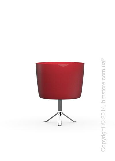 Настольный светильник Calligaris Phoenix, Table lamp, Glass red and white