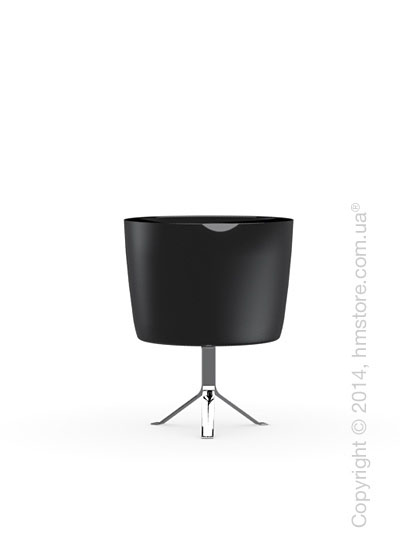 Настольный светильник Calligaris Phoenix, Table lamp, Glass black and white