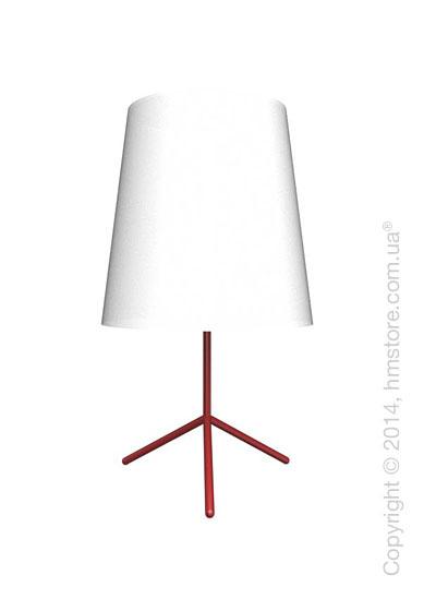 Напольный светильник Calligaris Big Wave, Floor lamp, Metal matt red