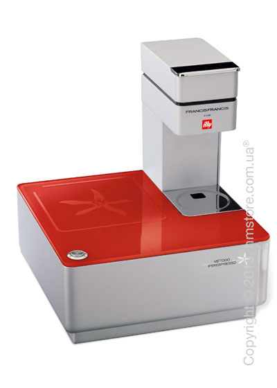 Кофемашина illy Y1.1 Francis Francis Touch Iperespresso, Red