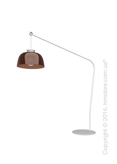 Напольный светильник Calligaris Arpège, Floor lamp, Glossy transparent smoked bronze