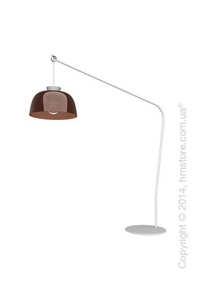 Напольный светильник Calligaris Arpège, Floor lamp, Glossy transparent smoked bronze
