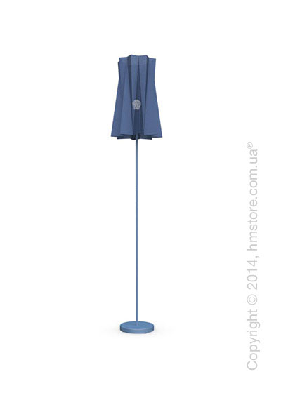 Напольный светильник Calligaris Andromeda, Floor lamp, Fabric blue