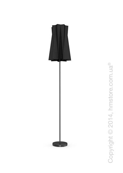 Напольный светильник Calligaris Andromeda, Floor lamp, Fabric black