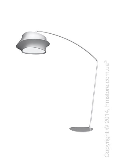 Напольный светильник Calligaris Cugnus, Floor lamp, Fabric white