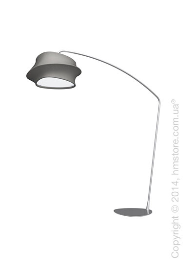 Напольный светильник Calligaris Cugnus, Floor lamp, Fabric grey