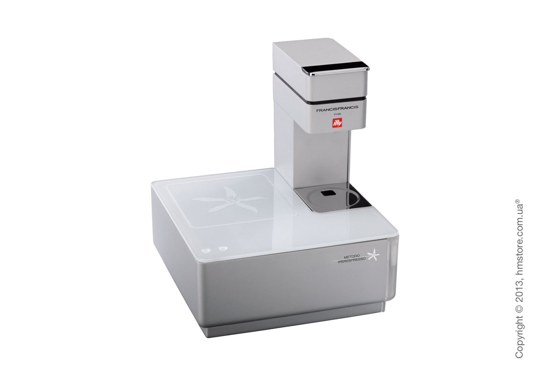 Кофемашина illy Y1.1 Francis Francis Touch Iperespresso, White