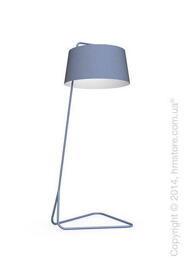 Напольный светильник Calligaris Sextans, Floor lamp, Fabric blue