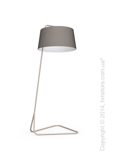 Напольный светильник Calligaris Sextans, Floor lamp, Fabric taupe
