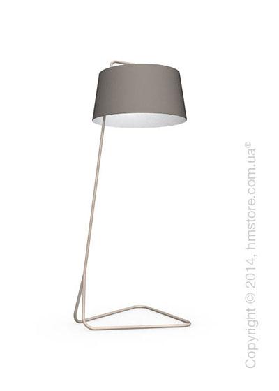 Напольный светильник Calligaris Sextans, Floor lamp, Fabric taupe