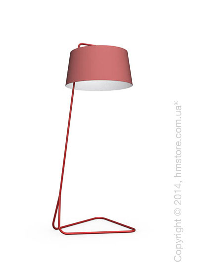 Напольный светильник Calligaris Sextans, Floor lamp, Fabric red