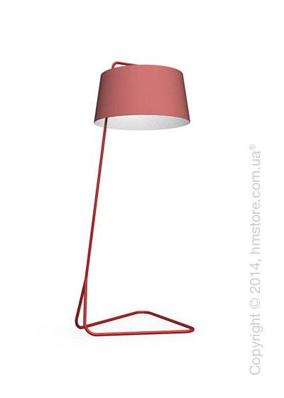 Напольный светильник Calligaris Sextans, Floor lamp, Fabric red
