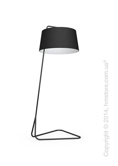 Напольный светильник Calligaris Sextans, Floor lamp, Fabric black