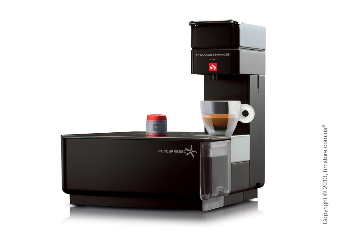 Кофемашина illy Y1.1 Francis Francis Touch Special Edition, Black