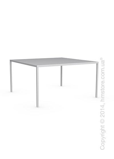 Стол Calligaris Heron, Metal matt optic white