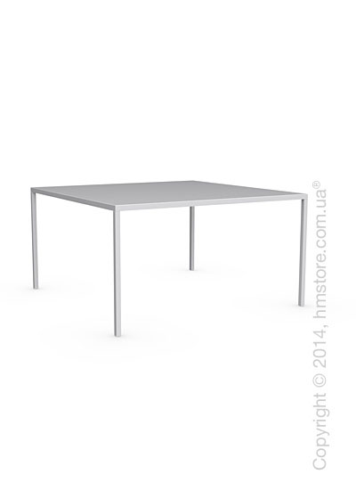 Стол Calligaris Heron, Metal matt optic white