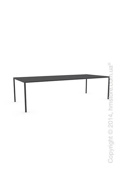 Стол Calligaris Heron, Rectangular metal table L, Metal black