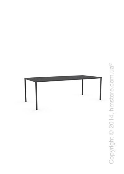 Стол Calligaris Heron, Rectangular metal table M, Metal matt black
