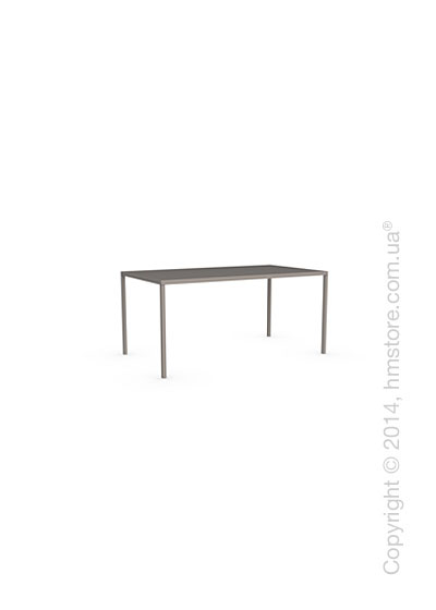 Стол Calligaris Heron, Rectangular metal table S, Metal matt taupe