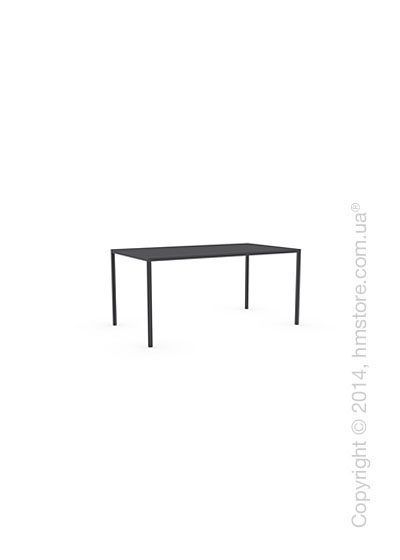 Стол Calligaris Heron, Rectangular metal table S, Metal matt black