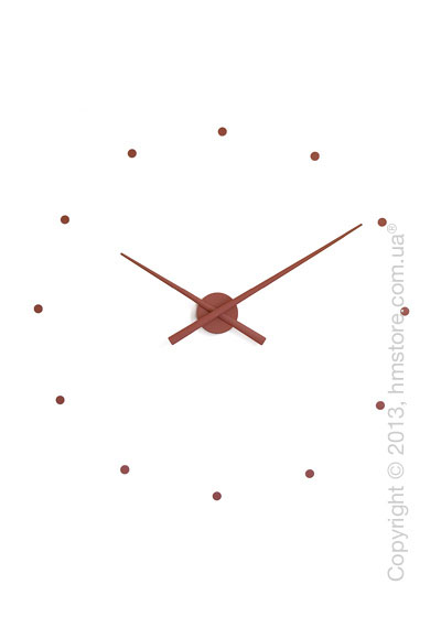 Часы настенные Nomon Oj Wall Clock, Chocolate