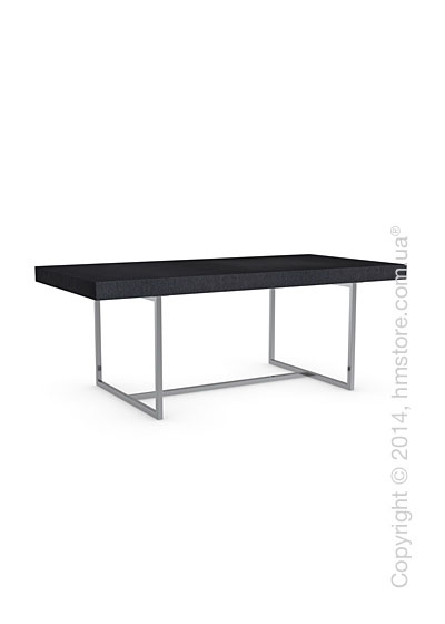 Стол Calligaris Parentesi, Veneer graphite and Metal chromed