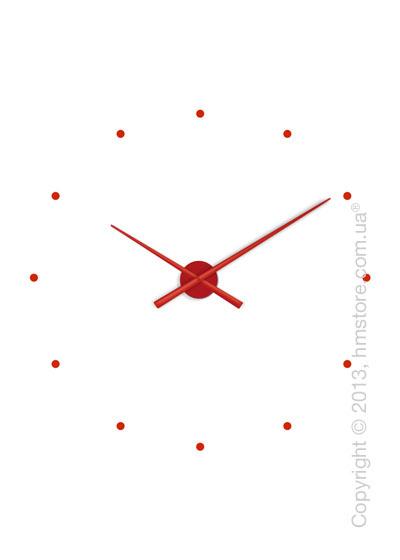 Часы настенные Nomon Oj Wall Clock, Red