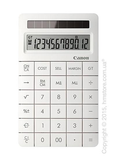 Калькулятор Canon X Mark II, White